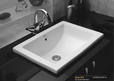 counter bathroom basins, Designer Counter top Basins